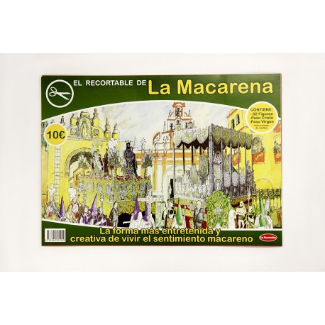 Recortable de la Macarena