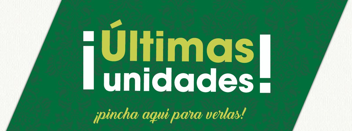 ultimas unidades