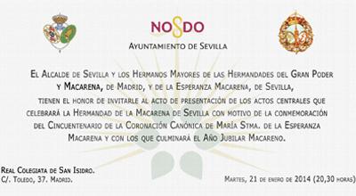 Invitación acto de Presentación en Madrid_Portada