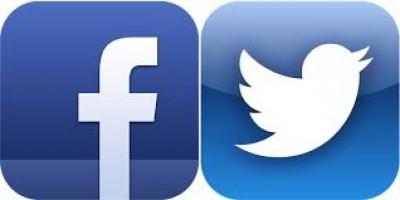 facebook y twitter