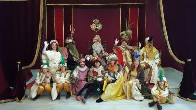 Los Reyes Magos en la Basílica 2016