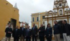 Visita con Alcalde a la nueva plaza