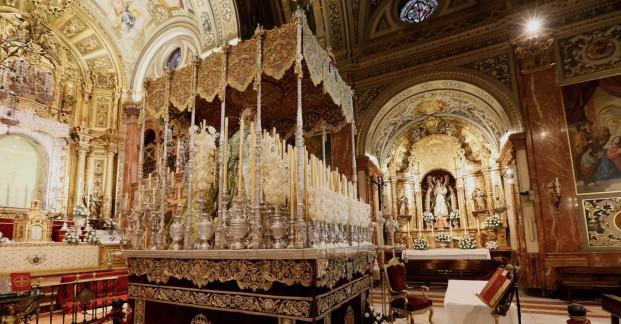 Basílica en Semana Santa slider