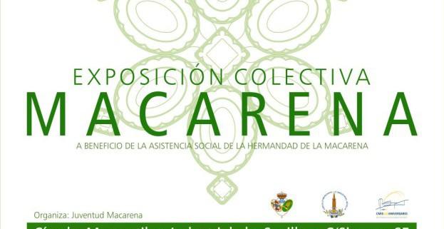 Exposición colectiva Macarena en el Círculo Mercantil