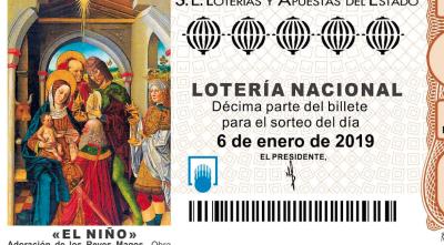 Lotería del Niño 2019
