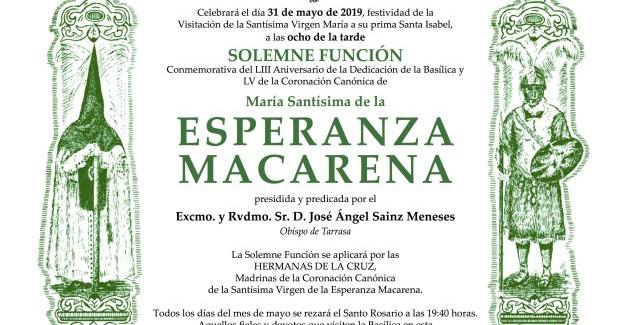 Convocatoria Mayo 2019
